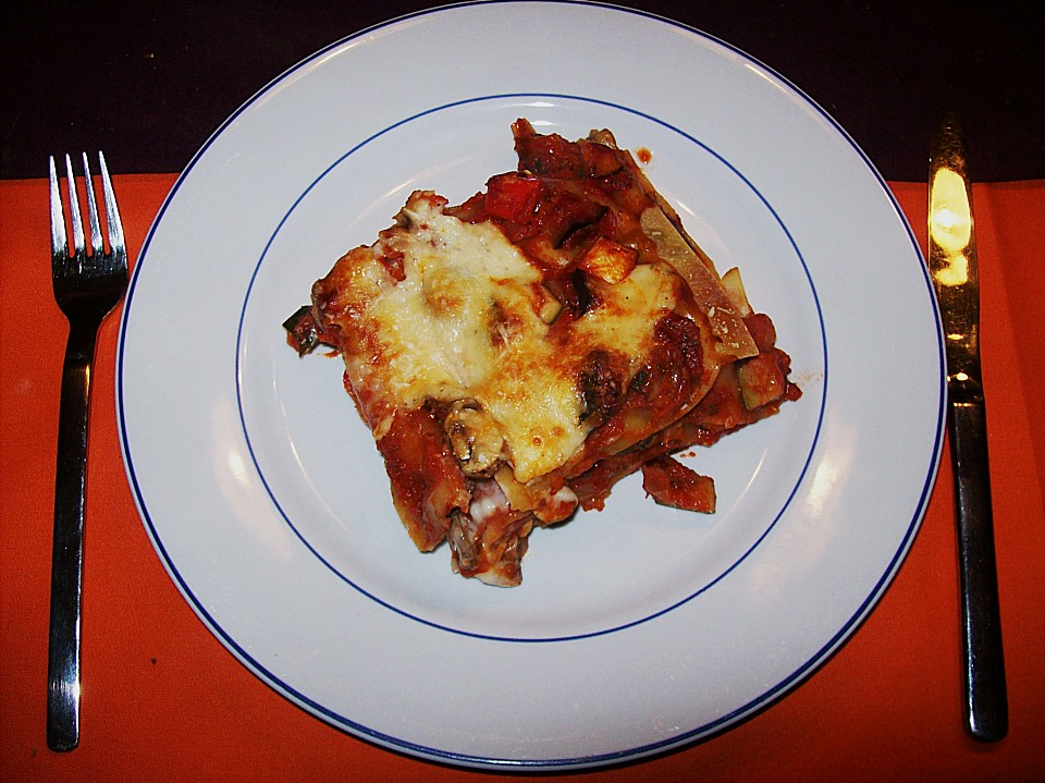 paprika zucchini lasagne von brabax. Black Bedroom Furniture Sets. Home Design Ideas