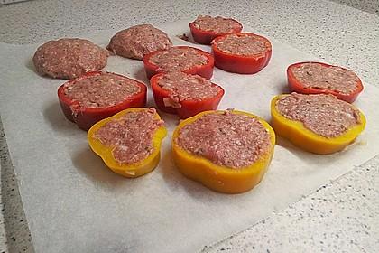 Gefüllte Paprikaringe 5