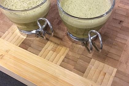 Grüner Spargel-Spinat Suppe