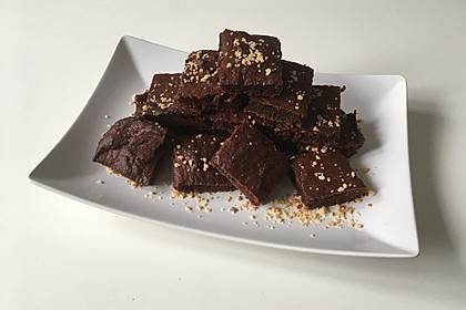 Low Carb Schoko-Brownies 9