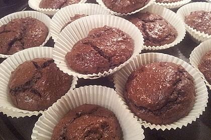 Low Carb Schoko-Brownies 5