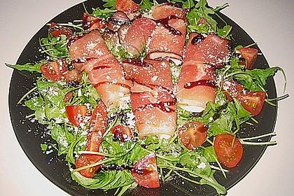 Schinken-Mozzarella Platte