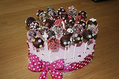 schokoladen cake pops rezept mit bild von terpsychore. Black Bedroom Furniture Sets. Home Design Ideas