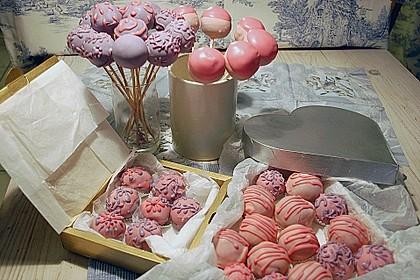 Schokolade-Rum-Marzipan Cake-Pops
