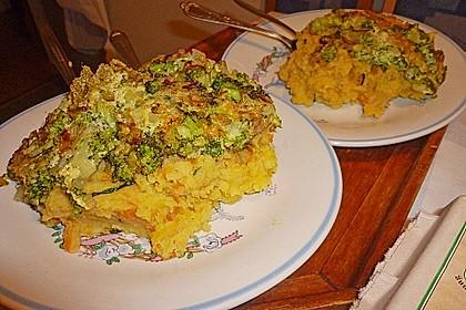 Sophies und Jacks Gemüse-Kartoffelpüree mit Omelett 1