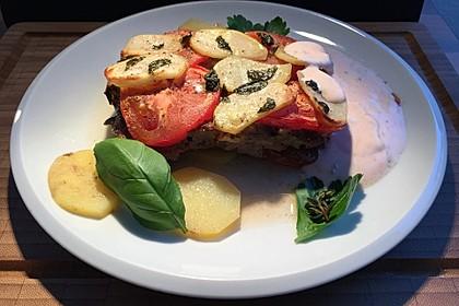 Arabischer Hack-Kartoffel-Tomaten-Auflauf 10