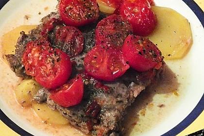 Arabischer Hack-Kartoffel-Tomaten-Auflauf 19