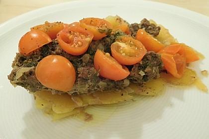 Arabischer Hack-Kartoffel-Tomaten-Auflauf 5