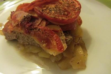 Arabischer Hack-Kartoffel-Tomaten-Auflauf 13