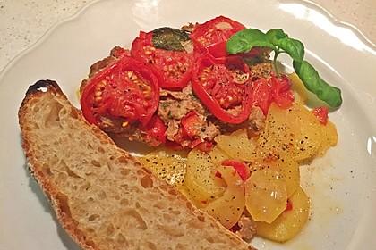 Arabischer Hack-Kartoffel-Tomaten-Auflauf 3