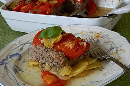 Arabischer Hack-Kartoffel-Tomaten-Auflauf 7