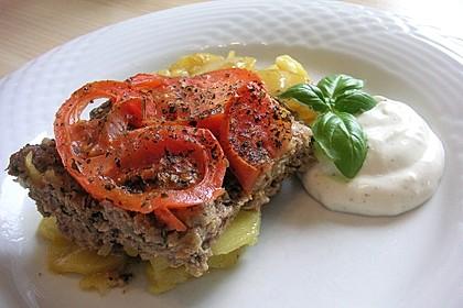 Arabischer Hack-Kartoffel-Tomaten-Auflauf 4