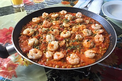 Cremige Fisch-Paella 1
