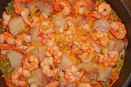 Cremige Fisch-Paella 2