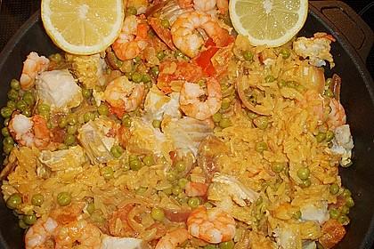 Cremige Fisch-Paella 4