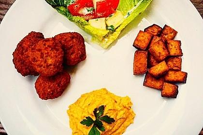 Falafel mit Tahini-Sauce 11