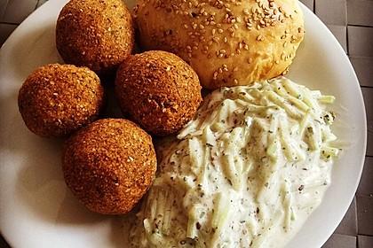Falafel mit Tahini-Sauce 1