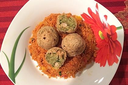 Falafel mit Tahini-Sauce 9