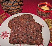 Glühwein-Schokoladen Kuchen (Bild)