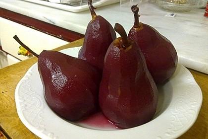 Rotweinbirnen 2