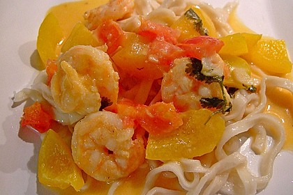 Südthailändisches Curry mit Garnelen und Ananas 6