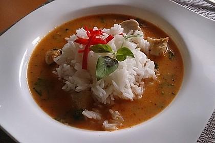 Südthailändisches Curry mit Garnelen und Ananas 5