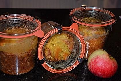 apfelkuchen im glas von sarah rezept mit bild von sarahgoldwyn. Black Bedroom Furniture Sets. Home Design Ideas