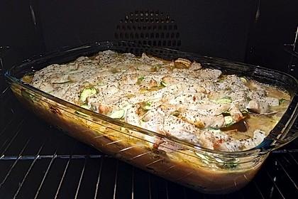 Hähnchen-Kartoffel-Auflauf 8