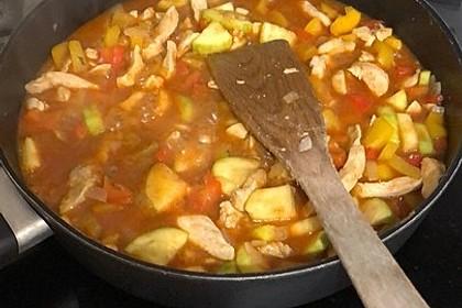 Hähnchen-Kartoffel-Auflauf 11