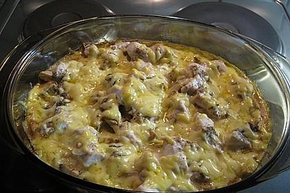 Hähnchen-Kartoffel-Auflauf 5