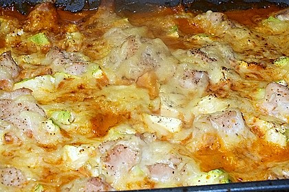 Hähnchen-Kartoffel-Auflauf 7