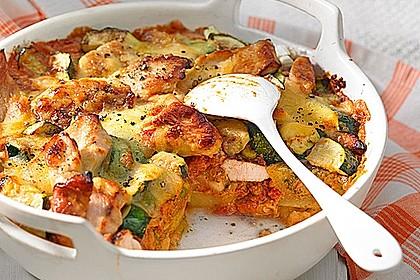 Hähnchen-Kartoffel-Auflauf