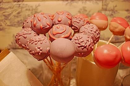 Schokolade-Rum-Marzipan Cake Pops 0