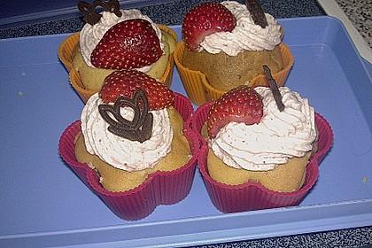 Erdbeer Cupcakes 10