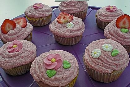 Erdbeer Cupcakes 3