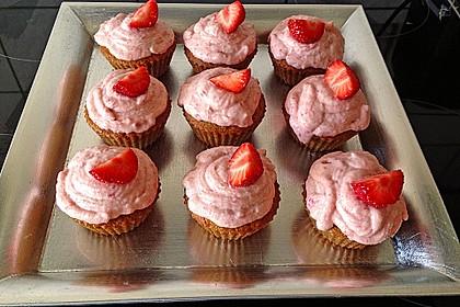 Erdbeer Cupcakes 5