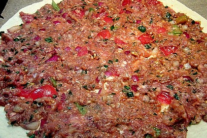 Türkische Pizza 21