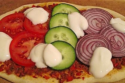 Türkische Pizza 10