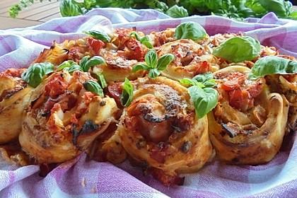 Schnelle Pizzaschnecken 2