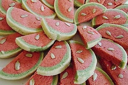 Wassermelonenspaltenkekse 12