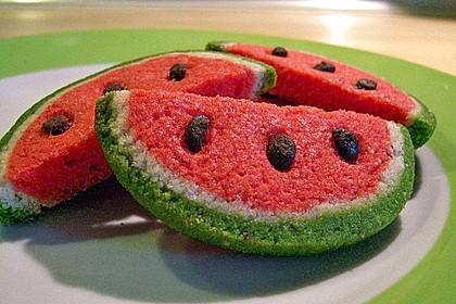 Wassermelonenspaltenkekse 0