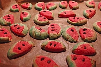 Wassermelonenspaltenkekse 15