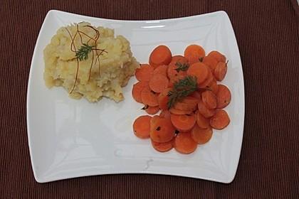 Glasierte Karotten 1