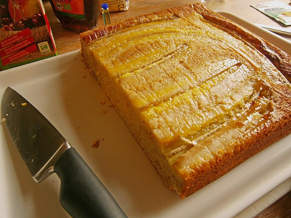 saftiger bananenkuchen mit sirup rezept mit bild