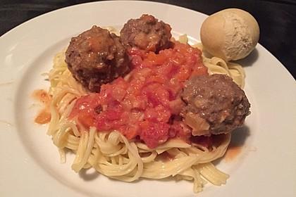Albertos Spaghetti mit Meatballs 22