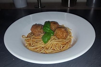 Albertos Spaghetti mit Meatballs 31