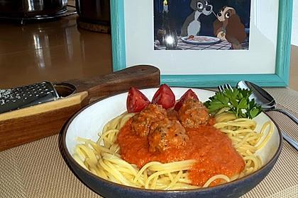 Albertos Spaghetti mit Meatballs 33
