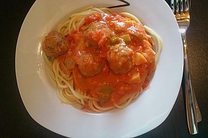 Albertos Spaghetti mit Meatballs 41