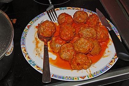Albertos Spaghetti mit Meatballs 43