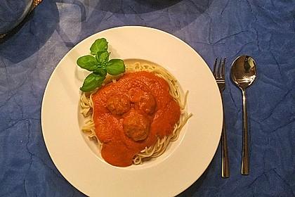 Albertos Spaghetti mit Meatballs 28